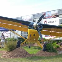 Husky A-1C from a different angle! Sun n Fun 2014