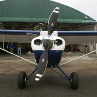 Husky A-1C-180 fitted with a Hartzell Composite Propeller