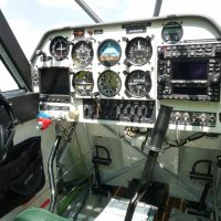 Comprehensive instrument panel. One of many radio package options available