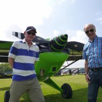 G-LIKY has the optional, Hartzell Composite prop - fully EASA Approved.